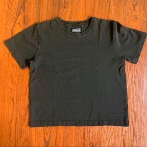 Patagonia Organic Cotton Black T Shirt